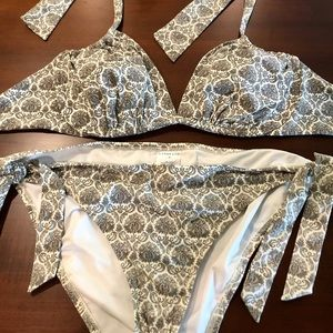 NWOT Lands End Bikini set - Size 14